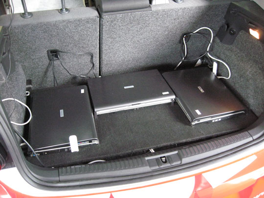 Trunk laptops